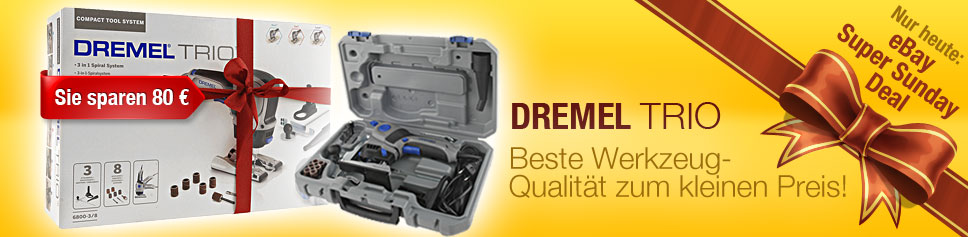 dremel trio 6800 2 9 multifunktionsger t werkzeug neu ovp ebay. Black Bedroom Furniture Sets. Home Design Ideas